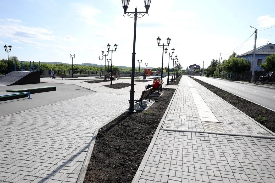 Плитка + пешеходные дорожки + набережная + Шадринск