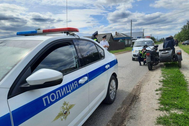 Под Тюменью автоинспекторы задержали 14-летнего мотоциклиста