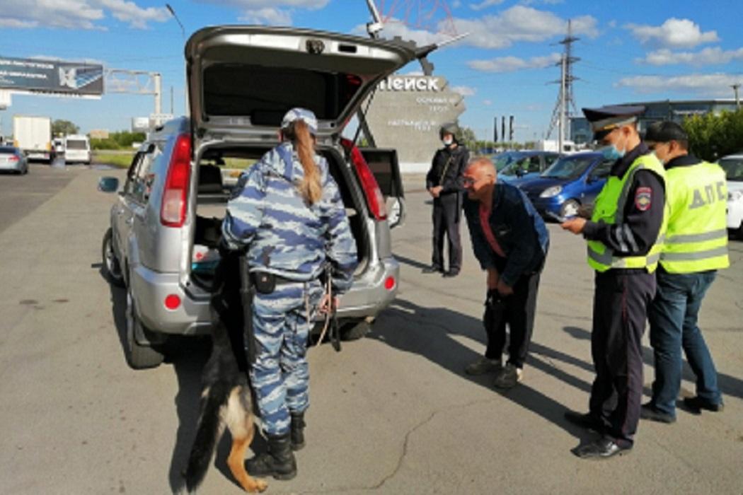 Полиция + ДПС + ГИБДД + Росгвардия + багажник