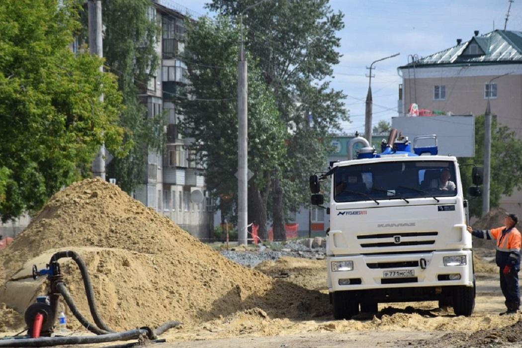 Ремонт + трубы + канализация + грузовик + перекачивающая станция