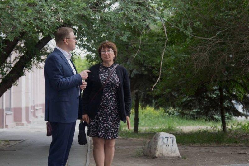 Текслер на месте вырубки даурских лиственниц встретился с Верой Меркер