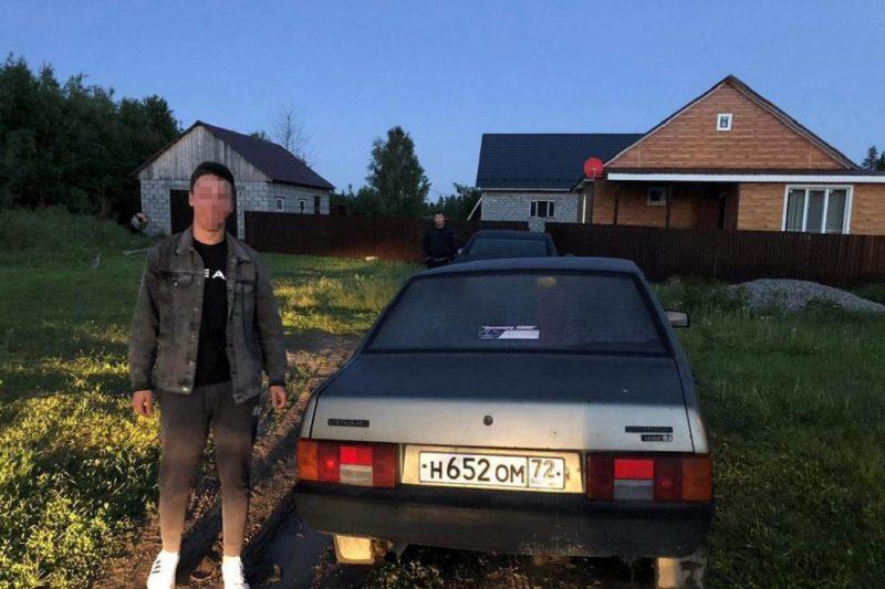 Тюменские автоинспекторы задержали пьяного подростка на Ладе
