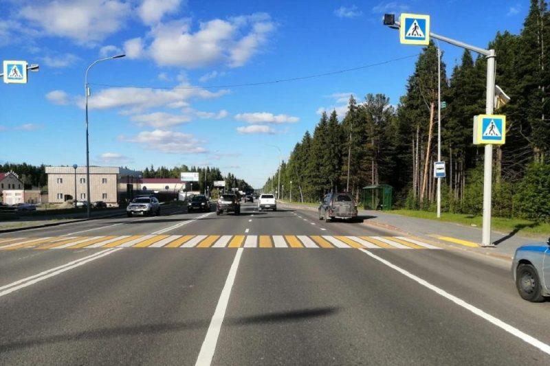 В Ханты-Мансийске иномарка сбила молодую девушку на «зебре»