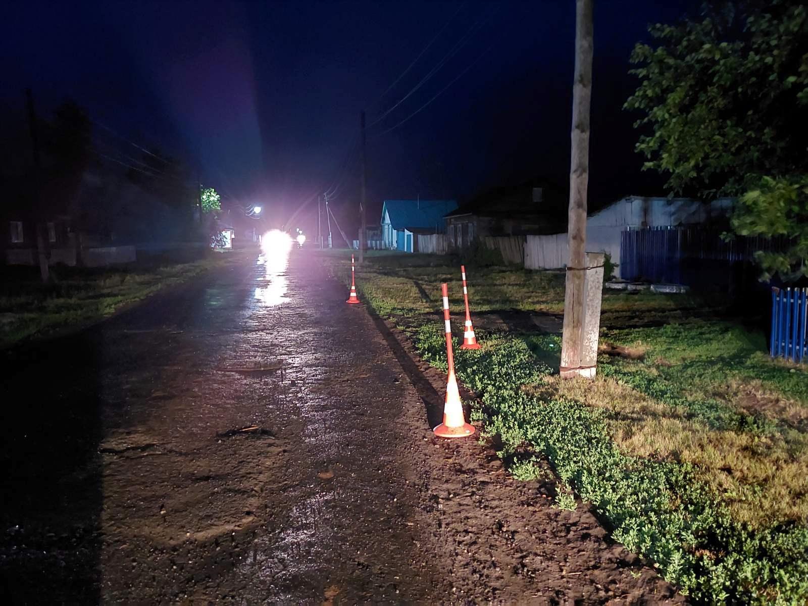 В Ишимском районе пьяный мотоциклист сбил 4-летнего ребенка 1