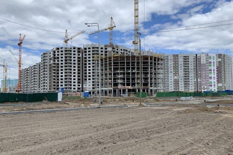 В Ново-Патрушево Тюмени строят школу и детсад