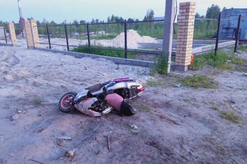 В Сургуте мотоциклист пострадал в ДТП