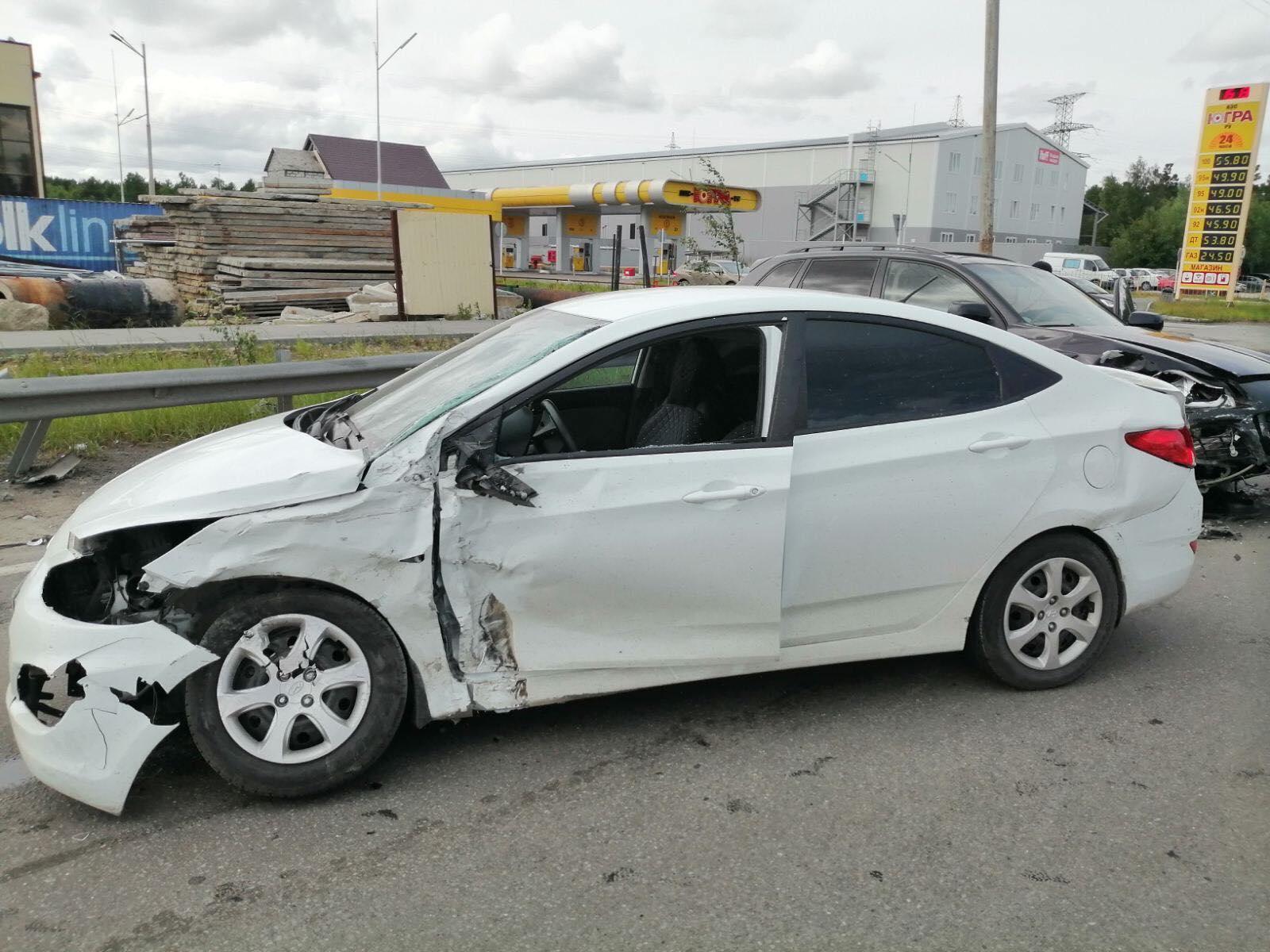 В Сургуте водитель «Porsche» устроил ДТП с пострадавшими 1