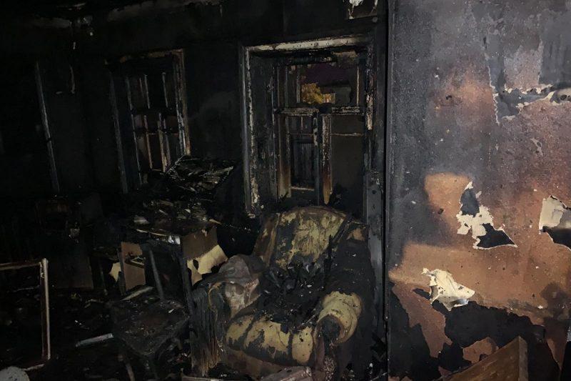 В Тобольске при пожаре в частном доме погиб мужчина 1