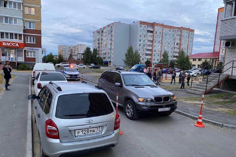 В Тобольске водитель BMW сбил 6-летнего ребёнка