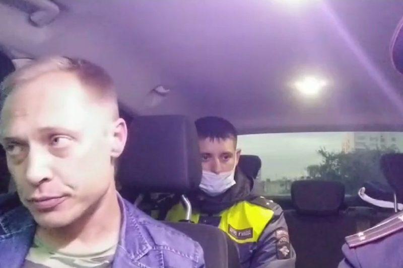 В Тюмени автоинспекторы задержали пьяного водителя маршрутки