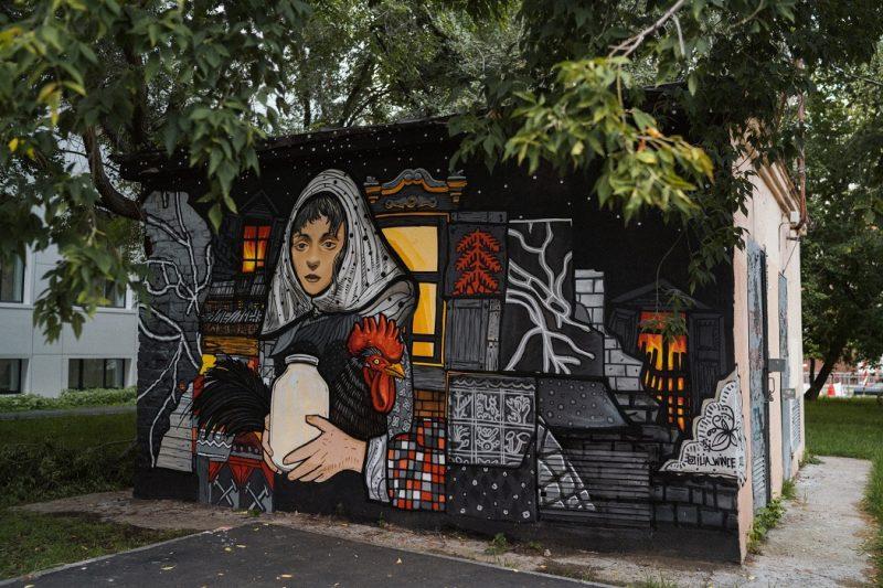 В Тюмени появится десяток новых стрит-артов