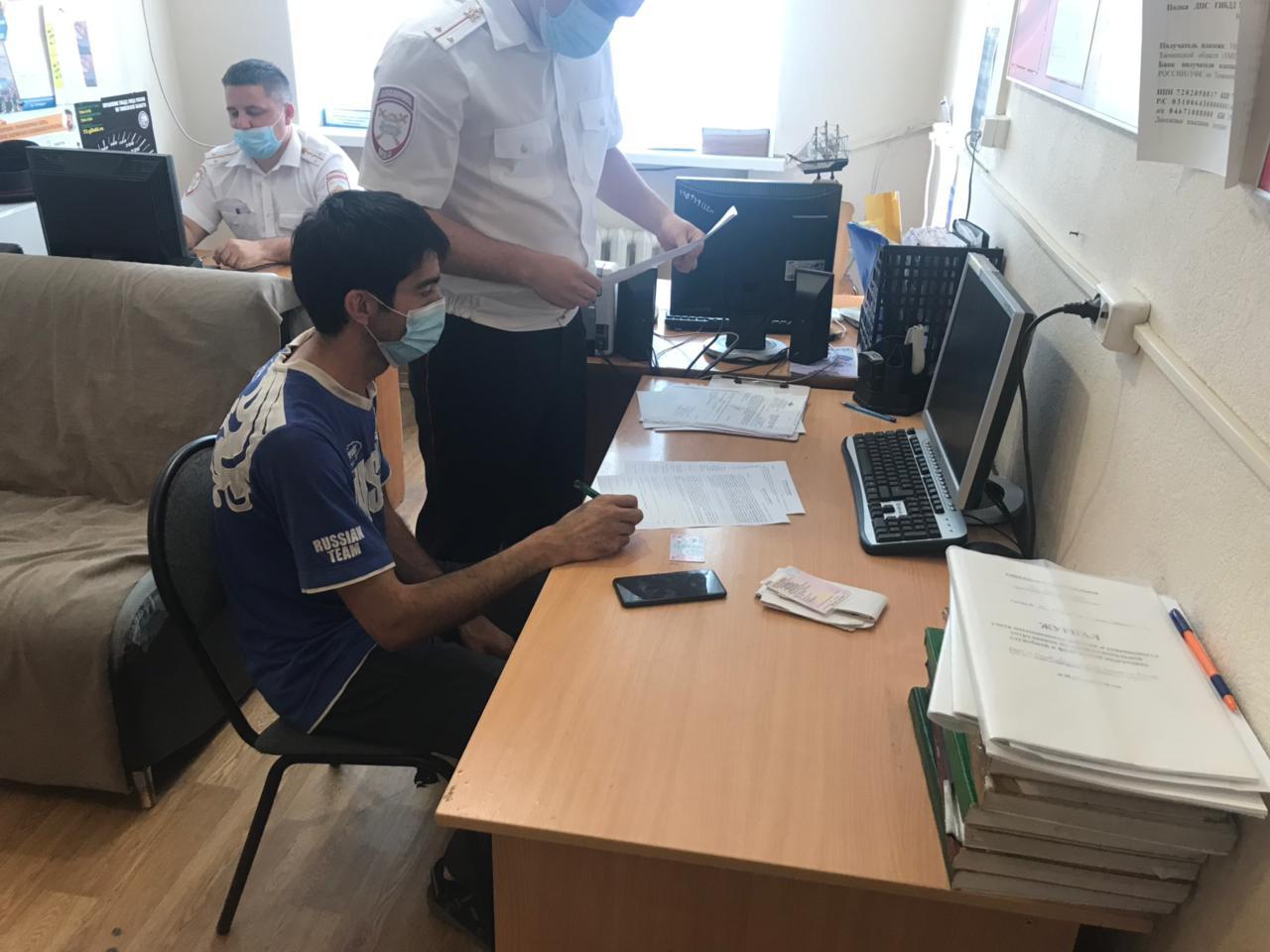 В Тюмени водителя «Лады» оштрафовали за запрещенный разворот 1