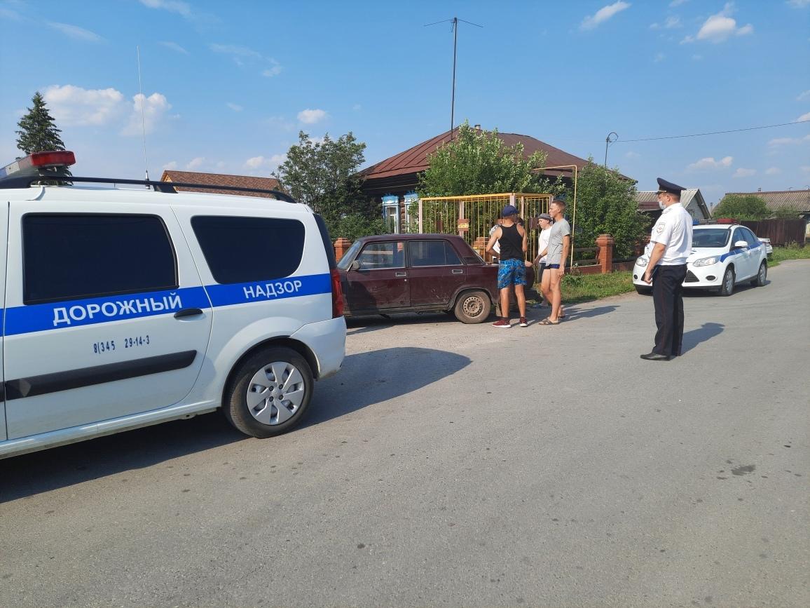 В Тюменском районе задержали 17-летнего бесправника на «семерке»