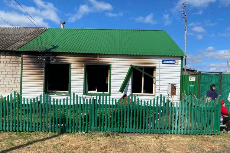 В Упоровском районе при пожаре в частном доме погиб пенсионер 1