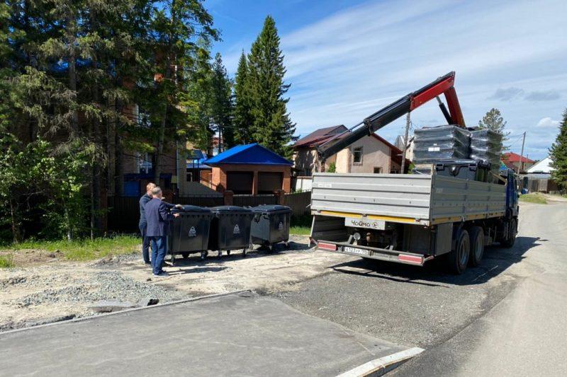 В Югре заменили почти 4 тысячи контейнеров для ТКО