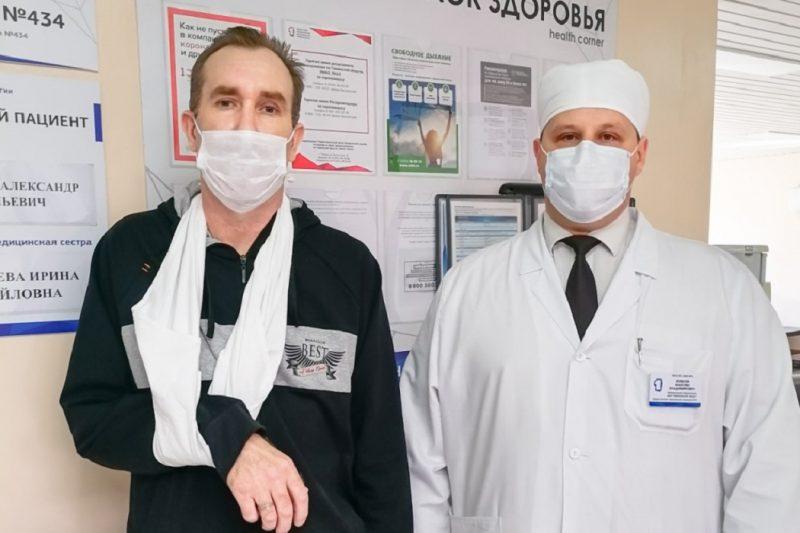 Врачи Тюмени помогли жителю Казахстана с дренажом в грудной клетке