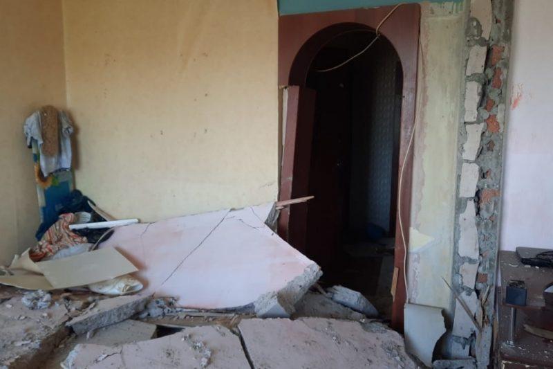 В Коркино в доме на 4 этаже произошёл хлопок газовоздушной смеси