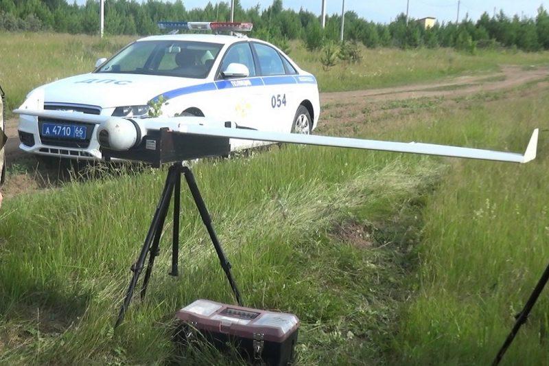 На Серовском тракте нарушителей ПДД выявляют беспилотники