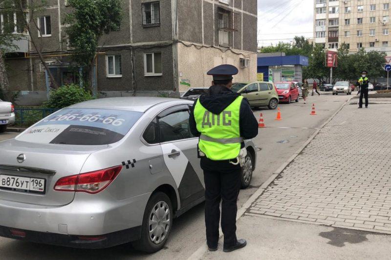 В Екатеринбурге Nissan сбил 9-летнего мальчика на велосипеде