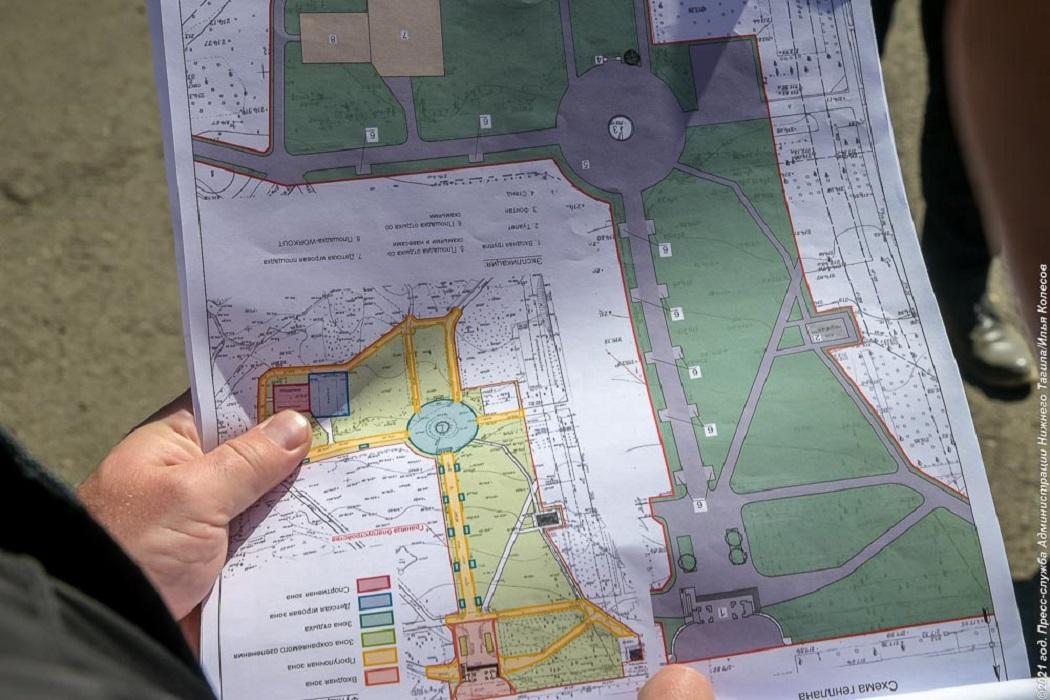 В Нижнем Тагиле парк Металлургов благоустроят в 2022 году
