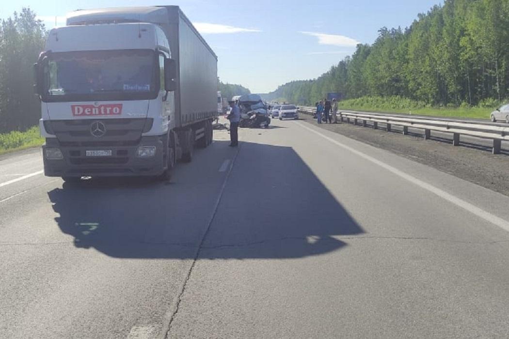 Пассажир «Газели» погиб в ДТП под Первоуральском на Пермском тракте