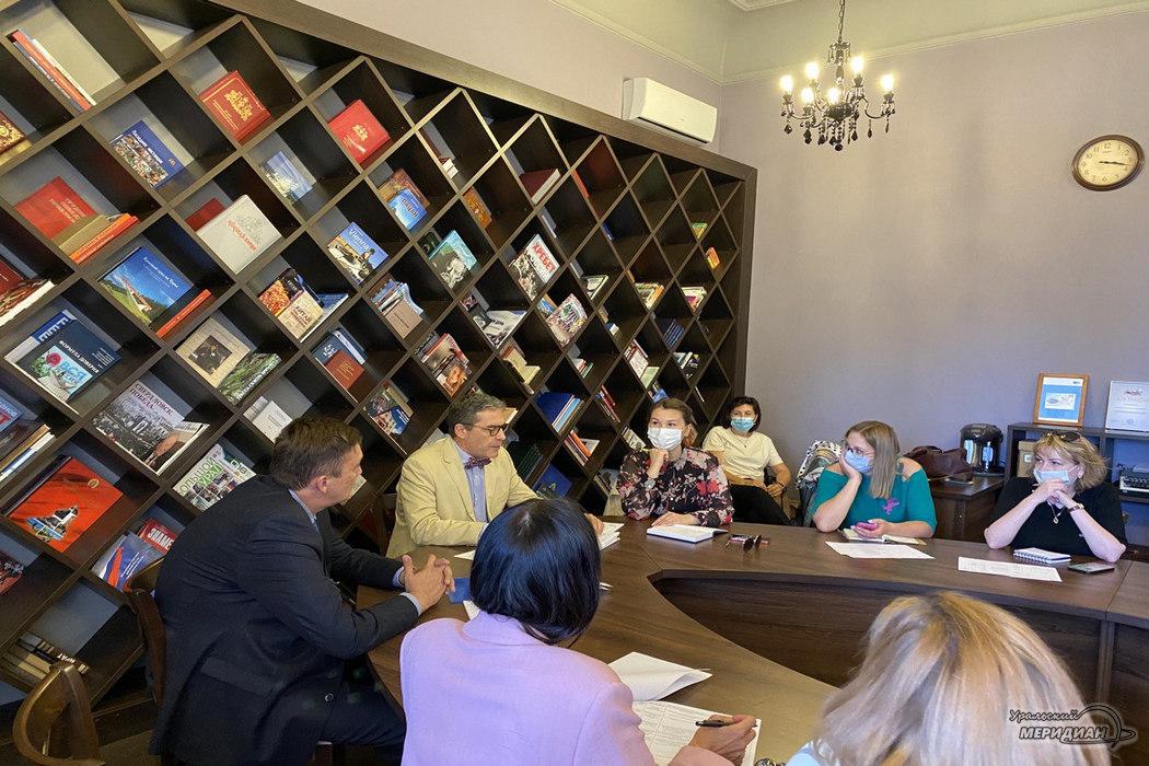Культурную программу ИННОПРОМа представил консул Италии в Екатеринбурге