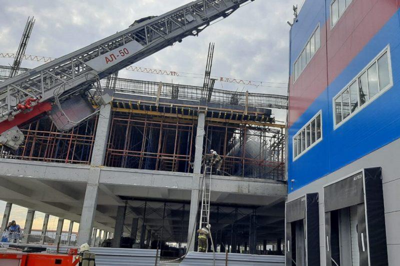 Пожар на Кольцовском тракте в Екатеринбурге локализован