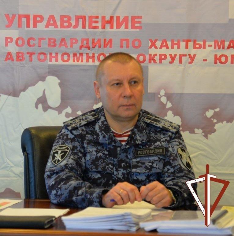 В Югре руководитель Росгвардии принял участие в работе военного совета