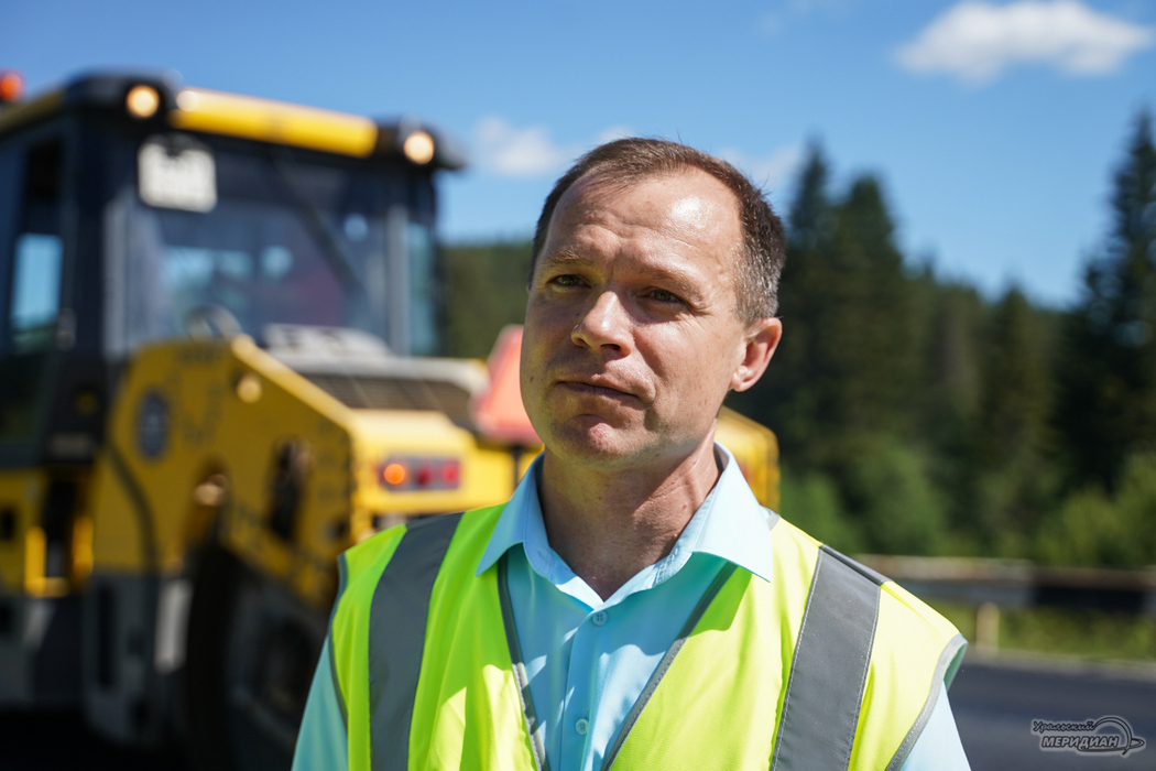 При ремонте дороги Нижние Серги – Михайловск применяют новые технологии