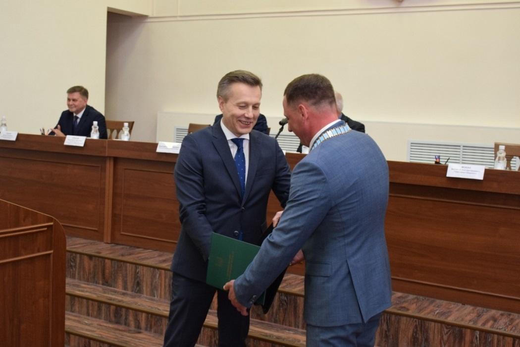 Антон Мокан вступил в должность Главы Шадринска
