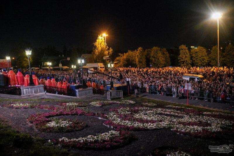 Bozhestvennaya liturgiya RPTS TSarskie dni 1 9