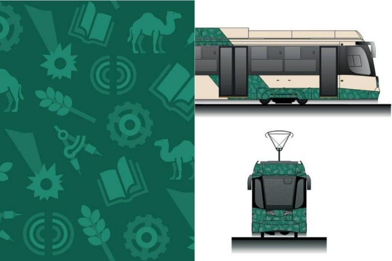 Dlya dostavlennyh v CHelyabinsk novyh tramvaev pridumali unikalnyy pattern