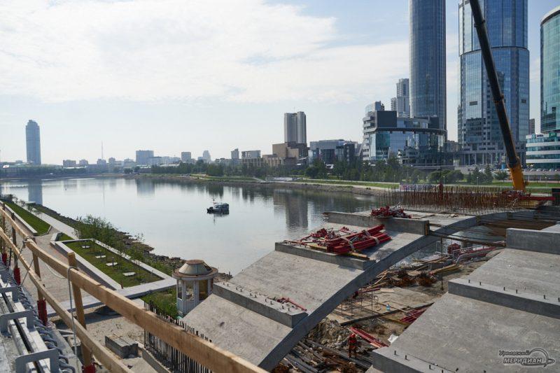 Makarovskiy most remont Ekaterinburg iset 43