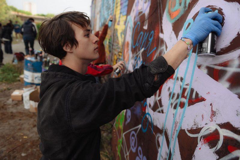 На зданиях Тюмени появится 15 работ от художников со всей России