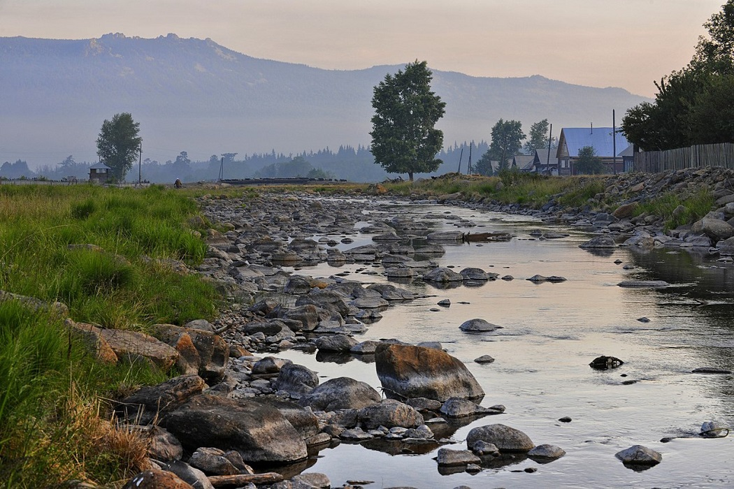 Гора Иремель, село Тюлюк и ущелье Ларкина
