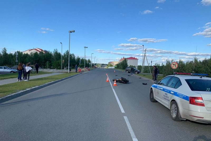 Скутерист и мотоциклист пострадали в ДТП на Ямале 1