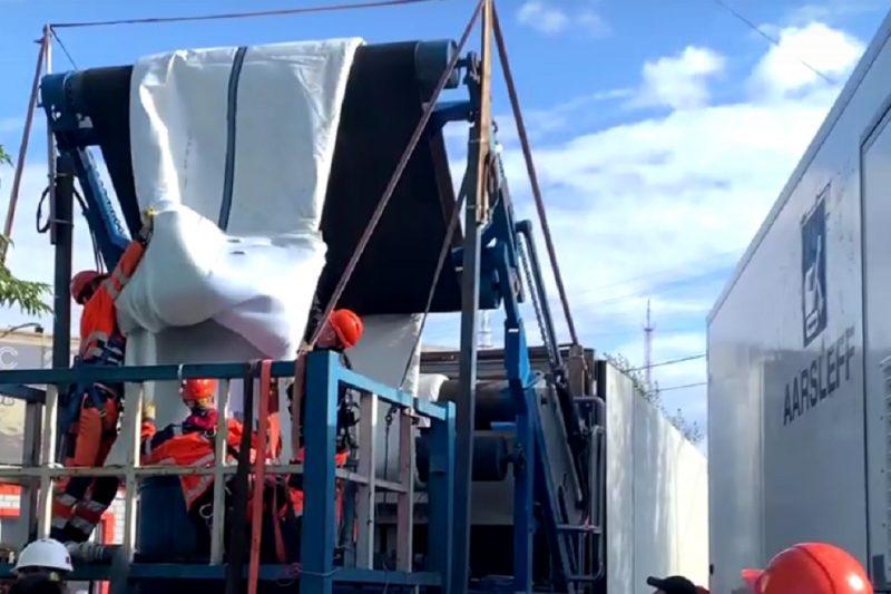 В Тюмени реконструируют коллектор на ул. 50 лет Октября 1