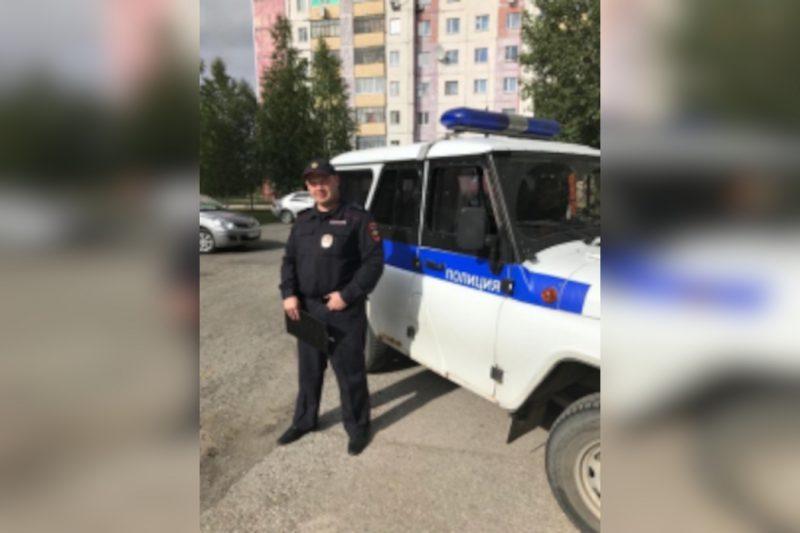 В Югре полицейский спас женщину, решившую свести счёты с жизнью