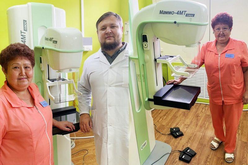 В больнице Нижней Тавды появился новый цифровой маммограф