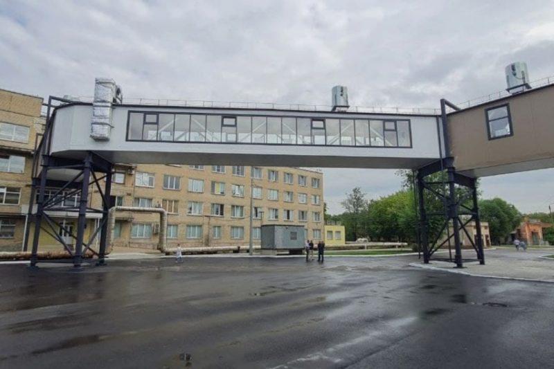 В челябинской больнице №8 открыли переход за 35 миллионов рублей