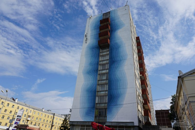 Zavershyon eschyo odin art obekt festivalya stenograffia Ekaterinburg 1