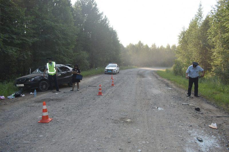 Под Нижней Салдой два человека пострадали в ДТП из-за плохой дороги