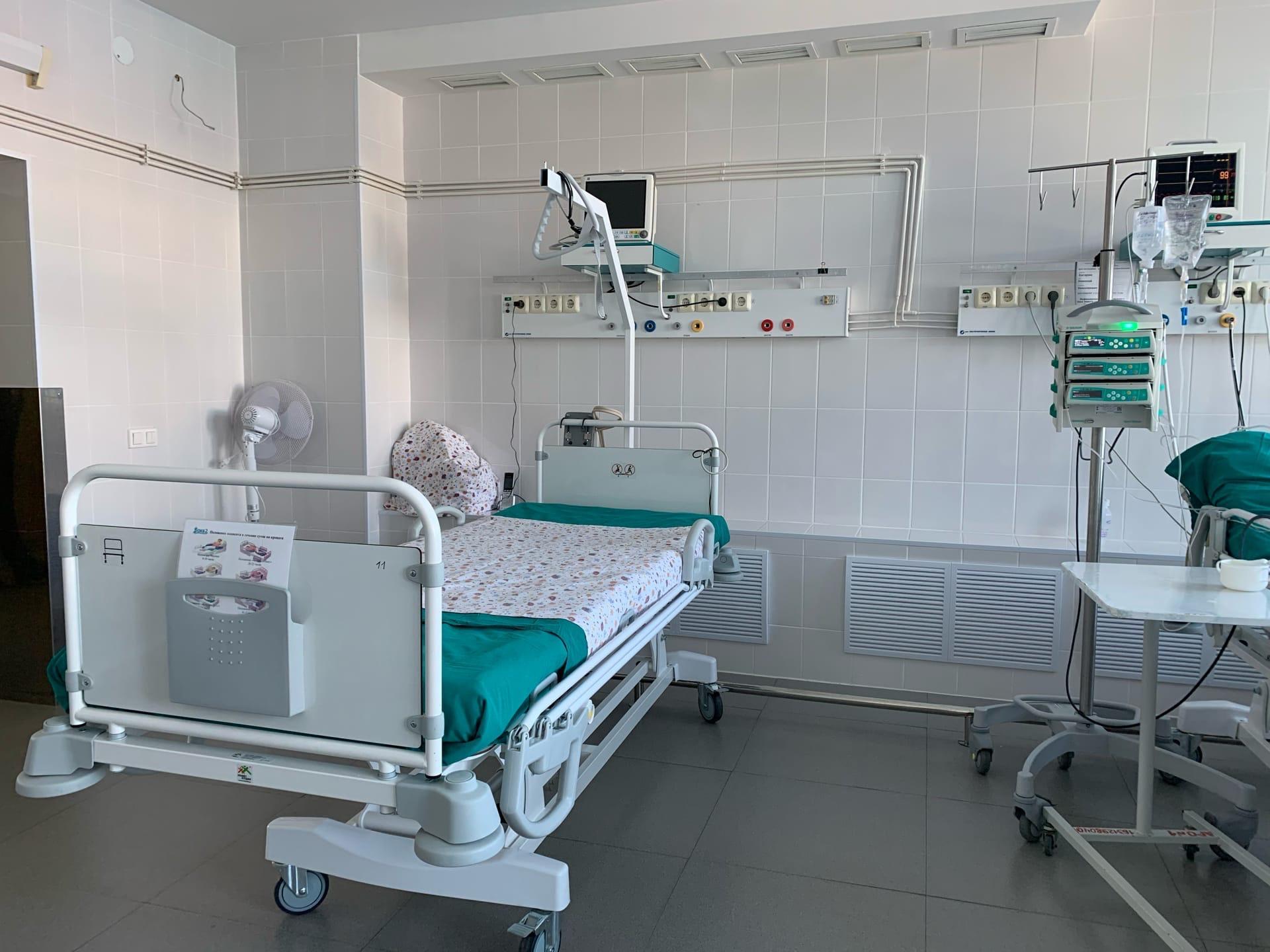 В ОКБ №2 Тюмени обновили реанимационное отделение