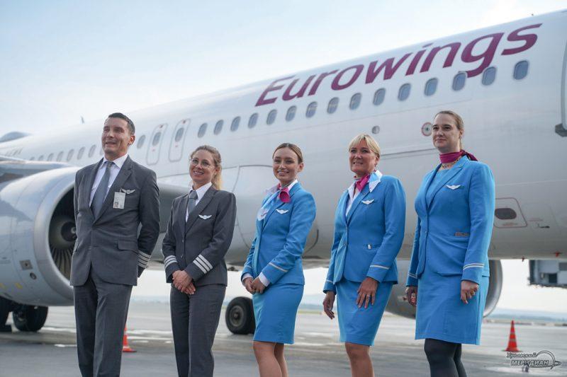 eurowings lufthansa Koltsovo samolet 20