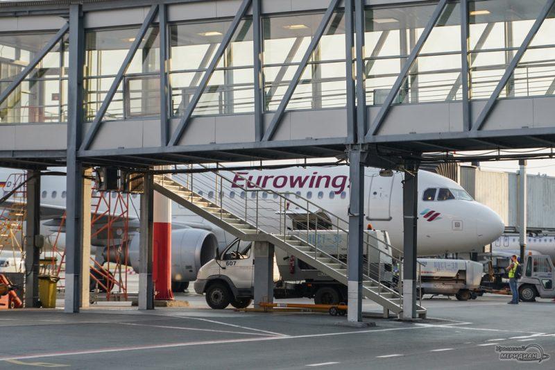 eurowings lufthansa Koltsovo samolet 23