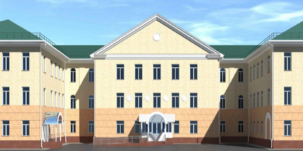 В Кургане отремонтируют фасад областной больницы