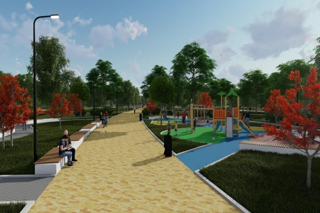 Проект реконструкции парка Победы в Копейске