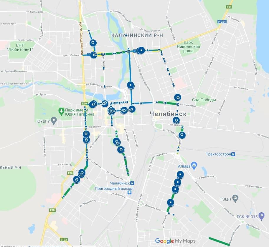 Обособление 30 км трамвайных путей произойдет в Челябинске