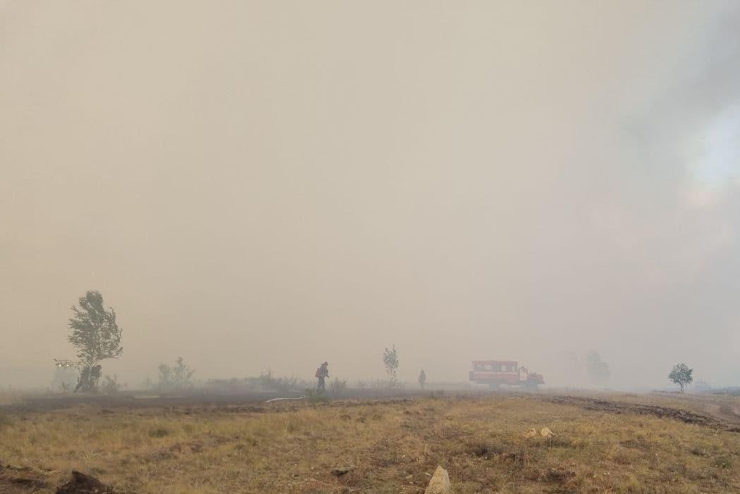 В Челябинской области, вероятно, из-за удара молнии чуть не сгорел Париж