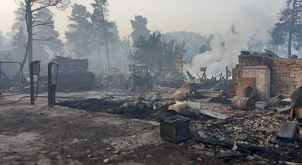 ГУ лесами Челябинской области объявило об отсутствии угрозы поселкам